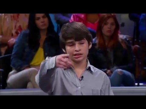 el  niño de 15 años es  papá   caso cerrado 2/3 Telemundo 2015