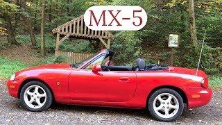 Motort BE, tetőt LE | Mazda MX-5 NB bemutató