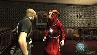 """バイオハザード4 逃げ続ける敵を追うと""""驚愕""""の現象が・・・【Resident Evil 4 Glitch】【PS4】"""