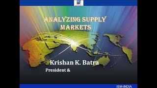 'Analyzing Supply Markets'