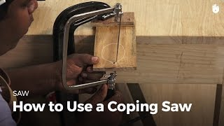 How to Use a Coping Saw | Woodworking
