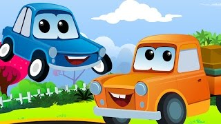 Zeek And Friends | if you are happy and you know it | Car Nursery Rhymes
