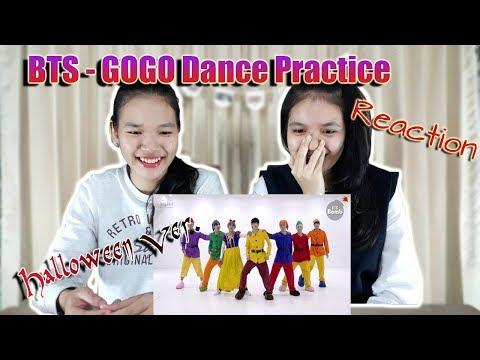 BTS - Go Go Dance Practice (Halloween Ver.) Reaction (Thai Ver.) | SeaSunSand