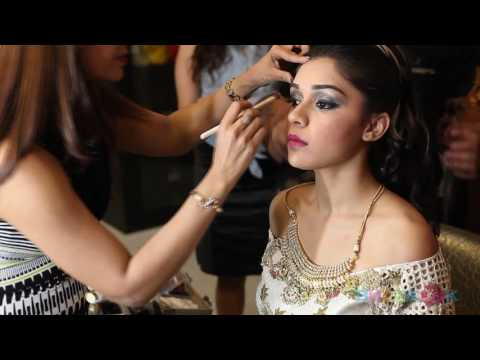 Makeover & Hair Styling of EISHA SINGH by Pooja Goel - Awarded Best Makeup Artist in Delhi
