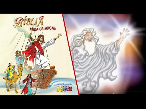 Bíblia para Crianças A Criação do Mundo Antigo Testamento