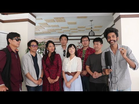 An Interview With Japanese/Nepalese Artist (My Love -Promise for Kathmandu) Movie