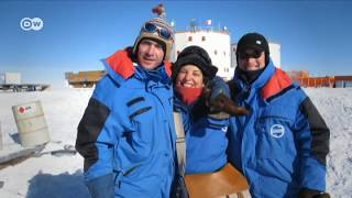"""مريم شديد: """"القطب الجنوبي أخطر مغامرة في حياتي""""   ضيف وحكاية"""