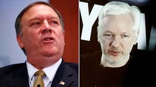 War of Words: Assange fires back at new CIA chief over WikiLeaks 'demon' comment