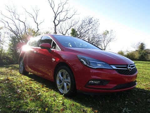 Review & Test Drive 2016 Opel Astra K SRI & SC