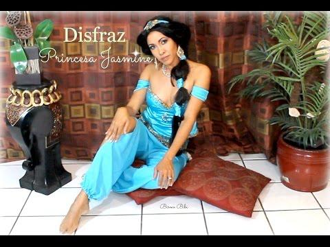 Princesa Jasmin Disfraz Como hacer el disfraz y baile