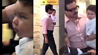 Taimur Ali Khan Return From Switzerland Vacation