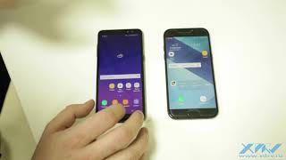 Чем различаются Galaxy A8 (2018) и Galaxy A5 (2017) - XDRV.RU