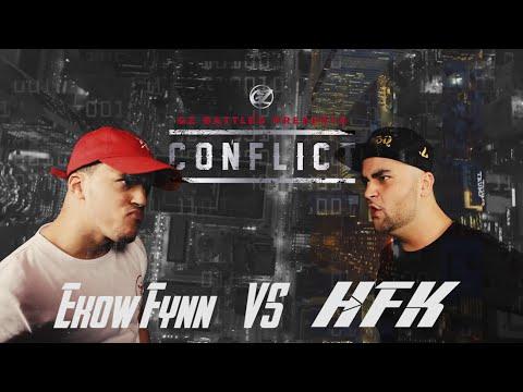 KOTD - Rap Battle - Ekow Fynn vs HFK | #GZ