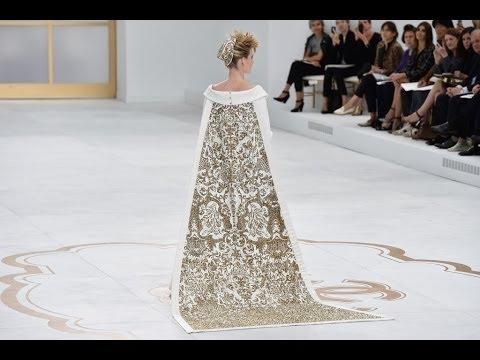 CHANEL Fall Winter 2014 2015 Haute Couture Paris Fashion Show Grand Palais HD