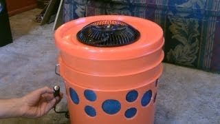 Homemade Evap. Air Cooler - The