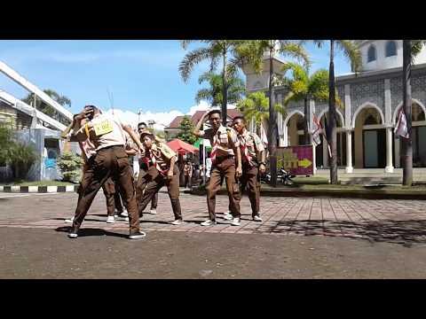 yel-yel bikin ngompollllll..... Sangga Perintis (PRANAMGA) Pramuka SMKN 6 Garut Th. 2017
