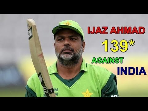 Ijaz Ahmed Smashed India with 139 of Just 84 Balls Cric Chamber