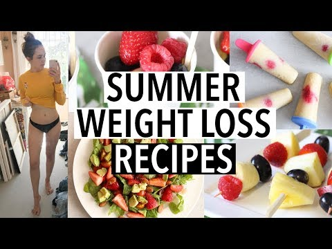 HEALTHY RECIPES TO LOSE WEIGHT FOR SUMMER 2018! (What I eat to get in shape)