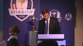 Ryder Cup 2018 : L'annonce en direct
