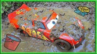 Disney Cars Lightning Mcqueen Car Wash 🚗🚿