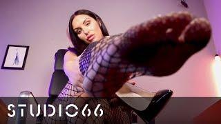 Paige P - Black High Heel Dangling | #FetishFriday