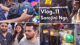 Sarojini Nagar haul - Shopping heaven for girls..!!(Commitee attack)(delhi)