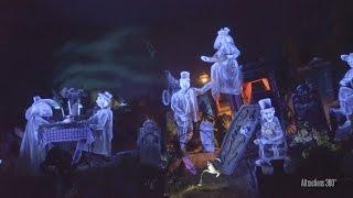 [4K] Tokyo Disneyland Haunted Mansion Ride 2016