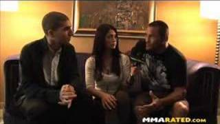 Arianny Celeste Interviews Dan Henderson
