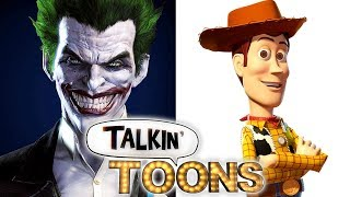 Troy Baker Is Batman and the Joker as Buzz and Woody! (Talkin