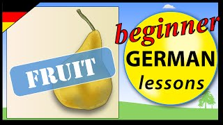 Fruit in German | Beginner German Lessons for Children