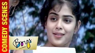 Boys - Tamil Movie | Siddarth fails to impress Genelia | Vivek | Shankar | A R Rahman