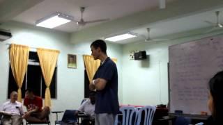 American Singing in Tamil