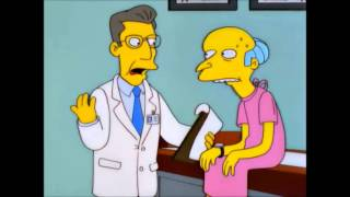 Mr. Burns is Indestructible