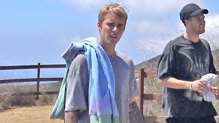 Justin Bieber Looks Confused When Asked If He's Supporting Mayweather In Fight Against McGregor