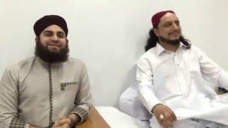 Hafiz Ahmad Raza Qadri visited Aastana Aaliya Kallar Syeddan