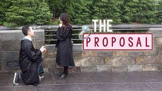 IM ENGAGED! 💍 8 Years PROPOSAL at Universal Studios JAPAN 💍 KimDao