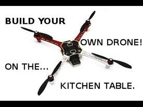 Build your own Drone - On the Kitchen Table! What's in the F450 ARTF Kit