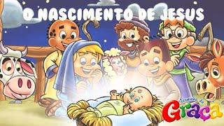 Turminha da Graça - O Nascimento de Jesus [ Motion Comic ]