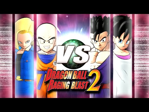 Dragon Ball Z Raging Blast 2 - COUPLE FIGHT! (What If Battle)