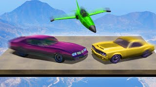 DANGEROUS DERBY IN THE SKY! (GTA 5 Funny Moments)