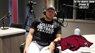 The Pat McAfee Show Simulcast Ep. 81- Pat Talks With Good Friend John Daly 10-13-17