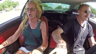 Scaring my Mom in my 750HP BMW 335i