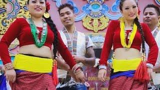 Lhasako Sun - Bishwo Dong and Pratima Thing Ft. Anita & Abhi Lama | New Nepali Tamang Selo Song 2016