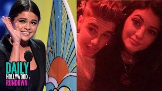 2014 Teen Choice Award Highlights- Justin Bieber Flirts w/ Kylie Jenner On Her Birthday (DHR)