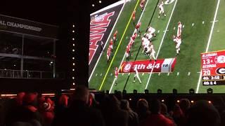 UGA Bulldogs Fans React to Losing NCAA Title Game