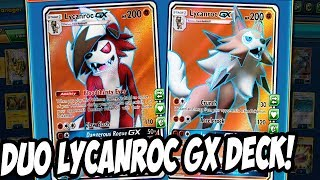 Duo Lycanroc GX Deck! 5 Lycanrocs in one deck! Underrated Deck for new format? PTCGO