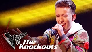 Kade Smith Performs 'Express Yourself': The Knockouts | The Voice UK 2018