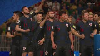 World Cup 2018 Finals WHAT IF? Croatia Wins Celebration (FIFA 18)