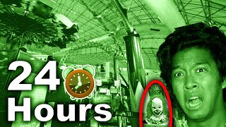 24 HOURS OVERNIGHT CHALLENGE HAUNTED CIRCUS AMUSEMENT PARK OVERNIGHT CHALLENGE (CLOWNS)