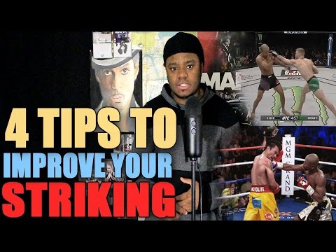 EA Sports UFC 2 TUTORIAL - 4 STRIKING TIPS TO HELP ELEVATE YOUR GAME